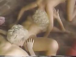 hairy pussy porn - hardcore lesbian orgy