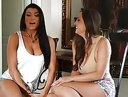 making love porn - lesbian anal orgy